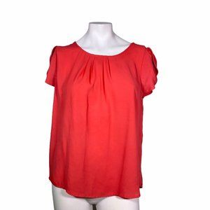 Papermoon Light Red Sheer See-Through Top LP